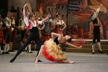 "Ludwig Minkus ""Don Quixote"" (ballet in three acts). Major revival. <BR>"