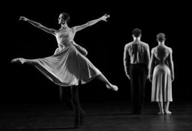 """Modern ballet Night: Frank Bridge Variations. Short Time Together. Symphony Of Psalms."" Ballet"