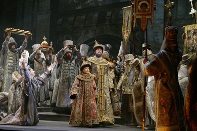 """Modest Mussorgsky ""Boris Godunov"" (opera in 4 acts). Production by Alexander Sokurov"""
