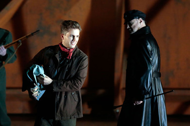 """Benjamin Britten ""Billy Budd"" Opera in two acts"""