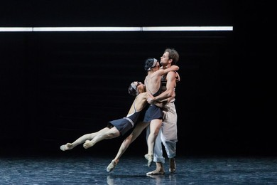 "Boris Eifman Ballet. ""Up & Down"" after the ""Tender is the Night"" by F. Scott Fitzgerald."