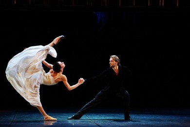 """""Anna Karenina"" ballet in 2 acts to music by Peter Tchaikovsky and Alfred Schnittke"" Modern Ballet<BR>"