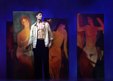 """Estonian National Opera production ""Modigliani – the Cursed Artist"" Ballet in two acts"""