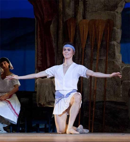 Bolshoi ballet company since 2012 promoted to soloist with bolshoi